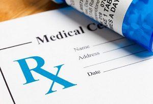 Prescription Medicine at nursing home